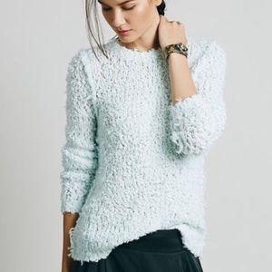 NWT Free People Mint Sweater